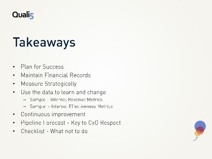 Q5   key marketing metrics Slide 2
