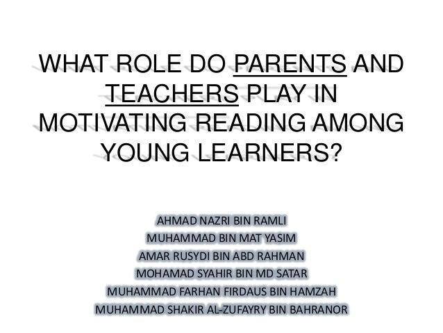Q5 Parents And Teachers Role