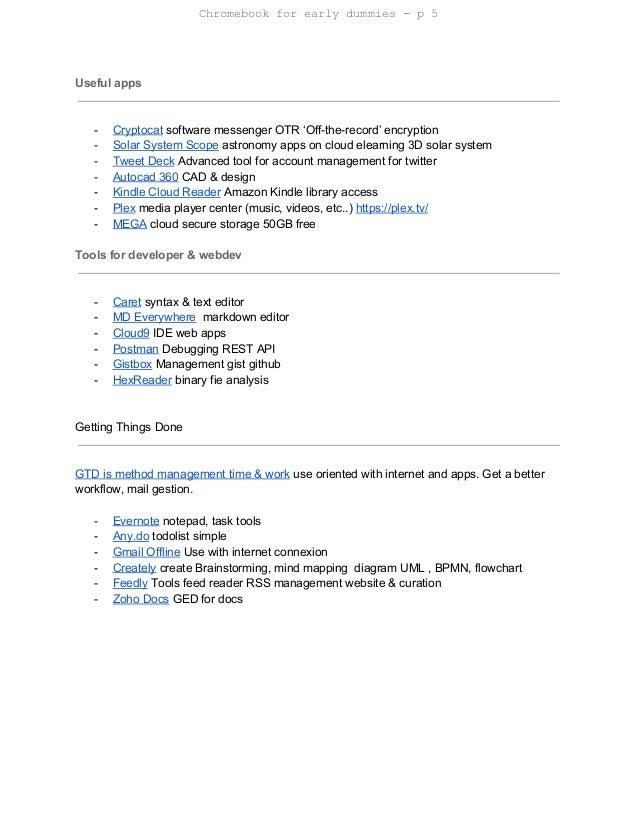 internet 6 chromebook for early dummies - Bpmn For Dummies