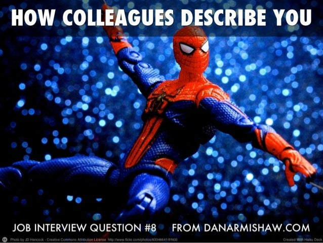 """Prepare for the """"How Do Colleagues Describe You"""" Job Interview Question"""