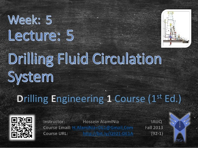Drilling Engineering 1 Course (1st Ed.)