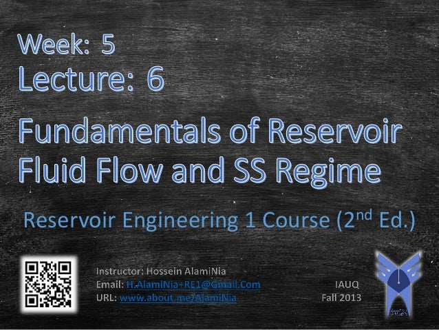 Reservoir Engineering 1 Course (2nd Ed.)