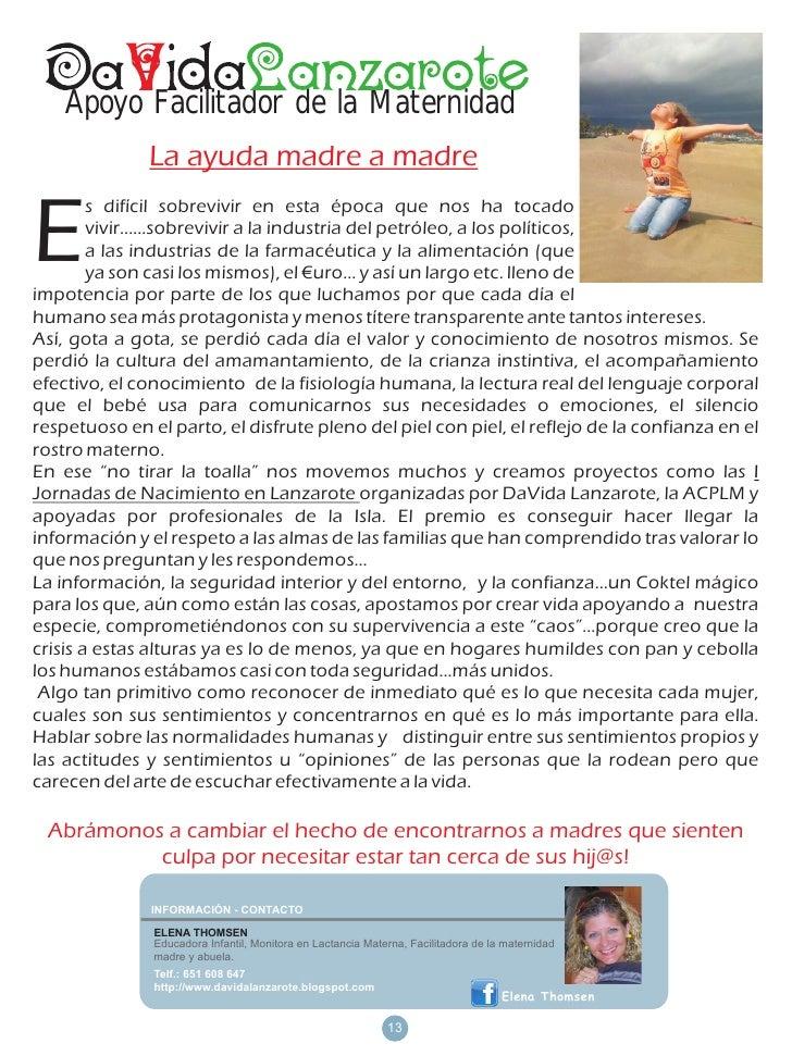 Apoyo Facilitador de la Maternidad              La ayuda madre a madreE        s difícil sobrevivir en esta época que nos ...