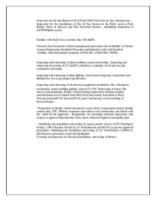 Cool Qasp Template Images - Example Resume Templates Collection ...