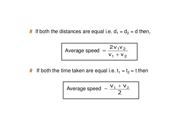 10060 100602 Example: A man travels at a speed of 60 kmph on a journey from A to B and returns at 100 kmph. Find his avera...