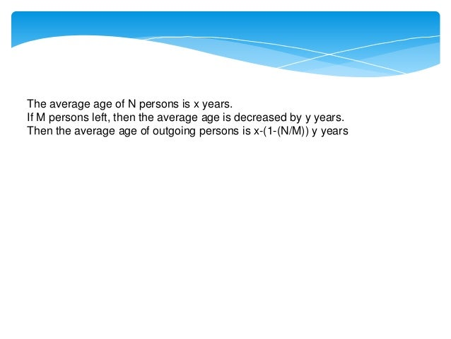 In a group of N persons whose average age is increased by y years when a person of x years is replaced by a new man. Then ...