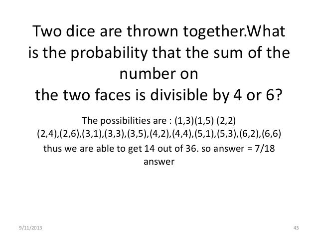 9/11/2013 47 In a lottery ,there are 10 prizes and 25 blanks. A lottery is drawn at random. what is the probability of get...