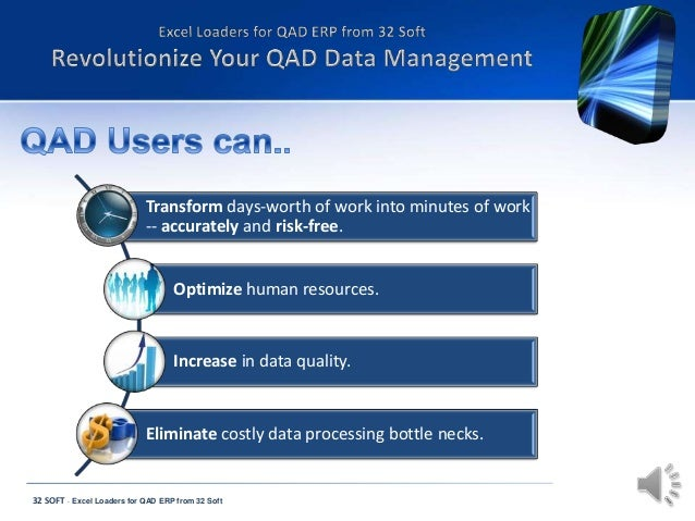 Transform days-worth of work into minutes of work -- accurately and risk-free. Optimize human resources.  Increase in data...