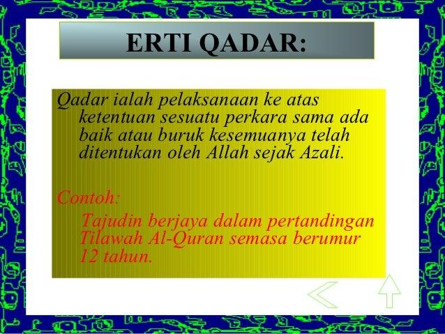 Qada Dan Qadar Skcl