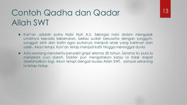 Contoh Gambar Qada