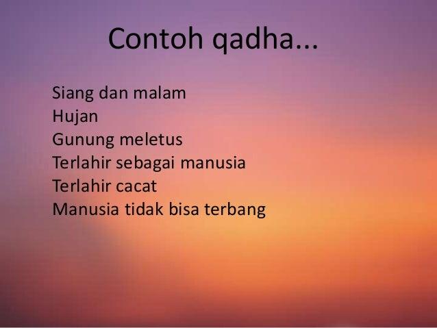 Qadha Qadar