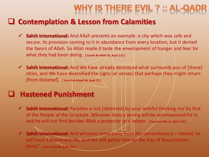  Increase in rewards & raising of level in honor Purification & atonement Abu Huraira reported that when this verse was...