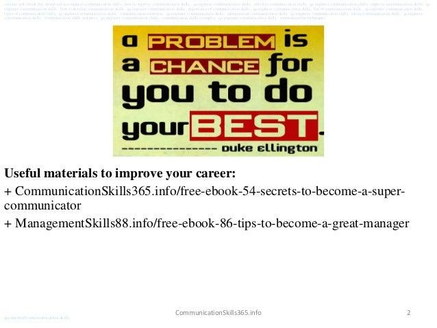 Qa engineer communication skills pdf