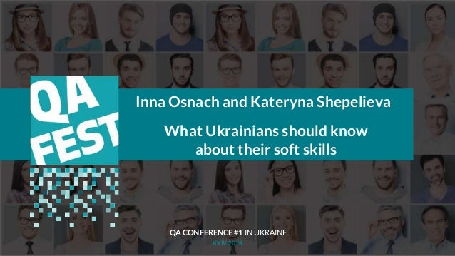 Тема доклада Тема доклада Тема доклада KYIV 2019 Inna Osnach and Kateryna Shepelieva What Ukrainians should know about the...
