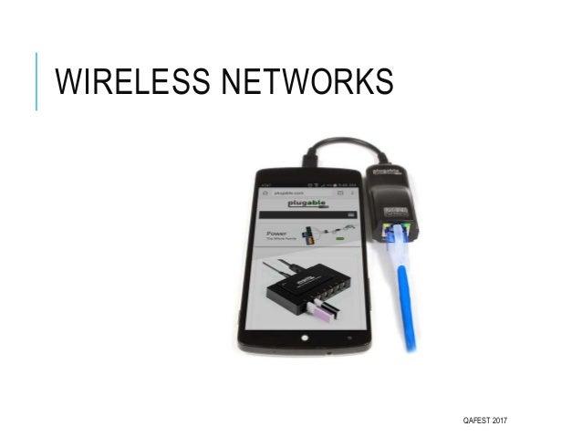 WIRELESS NETWORKS QAFEST 2017