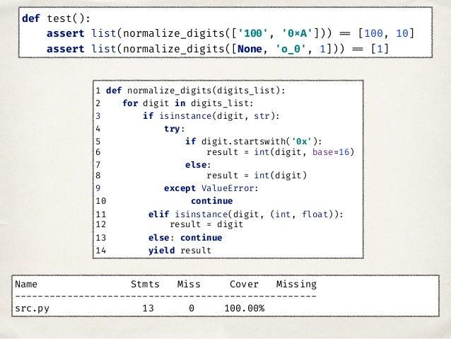 ✤ Проверить покрытие кода тестами ✤ Попробовать мутационное тестирование ✤ Генерировать входные данные Как сделать тесты л...