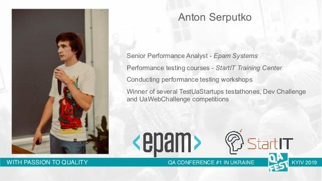 QA Fest 2019. Антон Серпутько. Нагрузочное тестирование распределенных асинхронных систем Slide 2