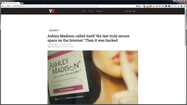 what dating site got hacked The site has over 37 million anonymous members extramarital affair website ashley madison has been hacked and attackers are threatening to leak data online.