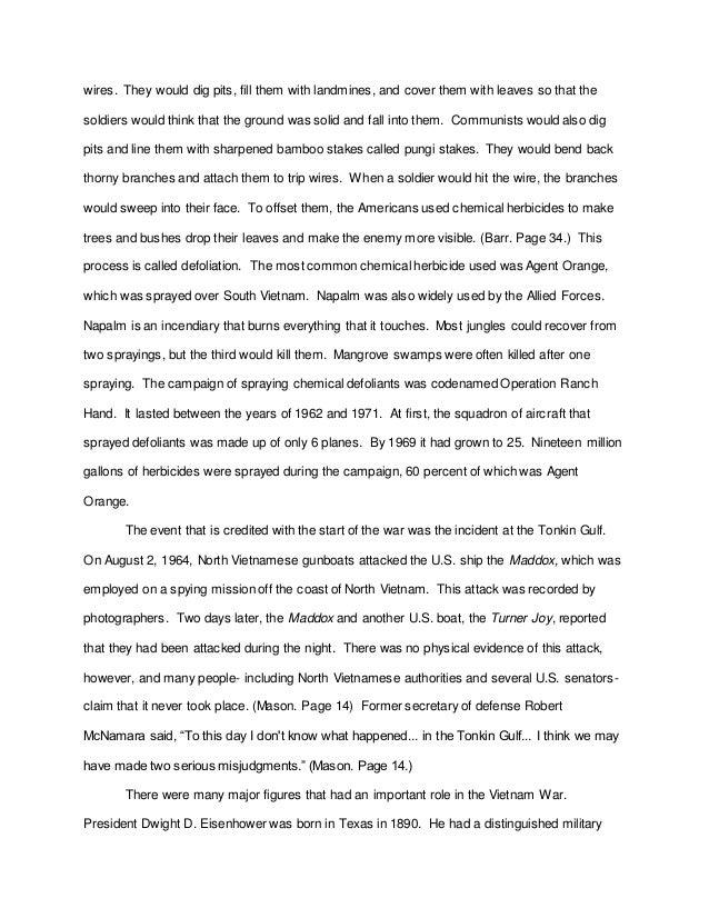 vietnam war persuasive essay