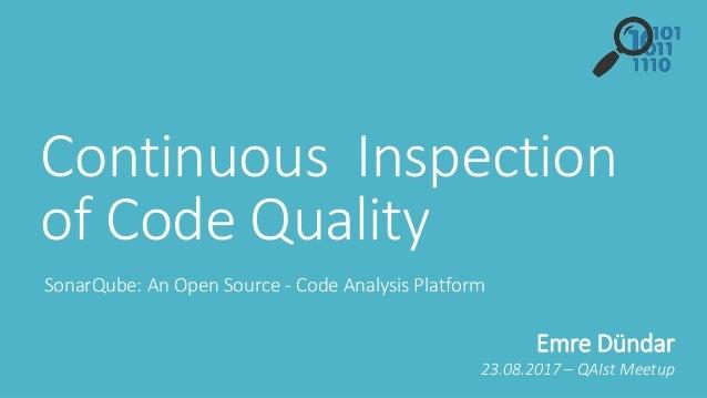 Sonar Code Quality Testing Essentials