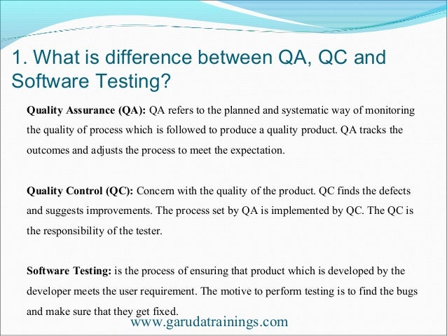 qa interview questions 2 - Qa Interview Questions And Answers Quality Assurance Interview