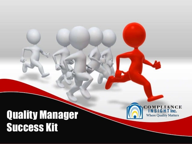 Quality ManagerSuccess Kit