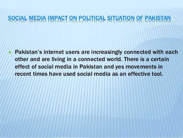social media channels and also national healthcare through pakistan essay
