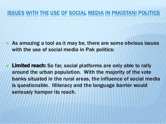 social media youth and pakistan On the role of social media and its impact on youth,  pakistan point is a multilingual site currently producing content in 7 different regional languages that.