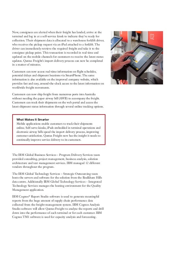 qantas case study Qantas had launched a contest through the social media service twitter,  this case is suitable for a business communications course or a general management,.