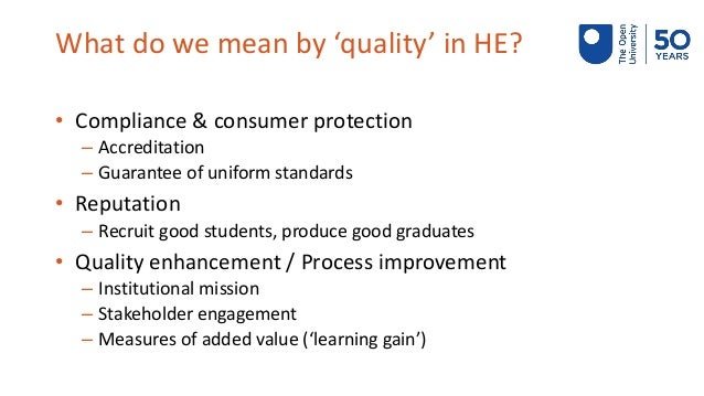 Quality assurance of MOOCs: The OpenupEd quality label Slide 3