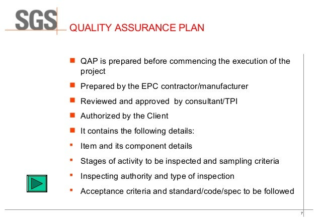 Quality Control  Quality Assurance Of Ms Pipeline