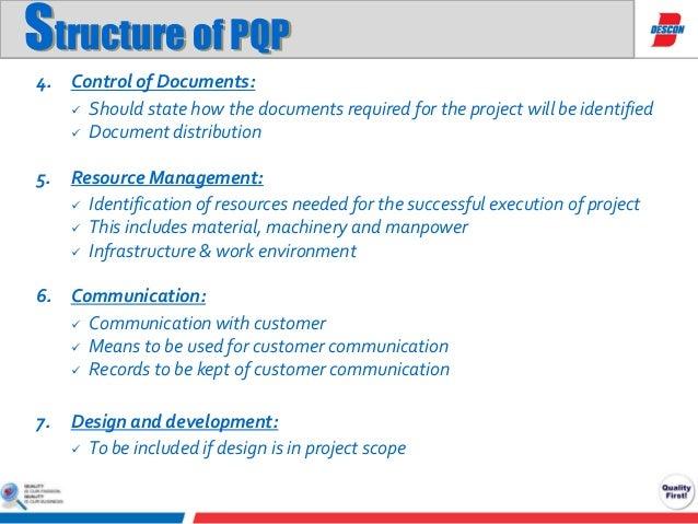 Quality assurance documentation