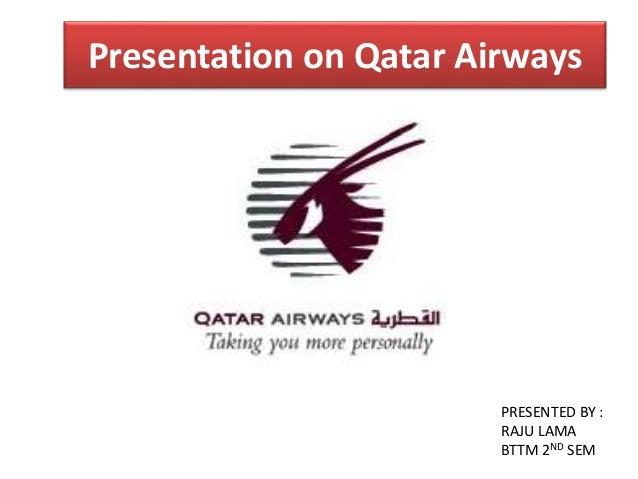 qatar airways presentation