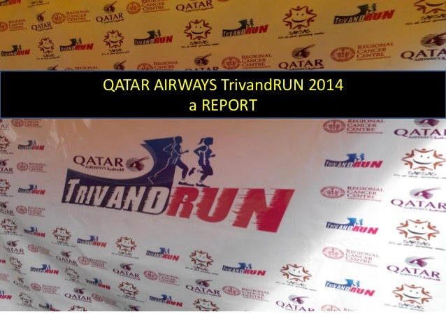 QATAR AIRWAYS TrivandRUN 2014 a REPORT