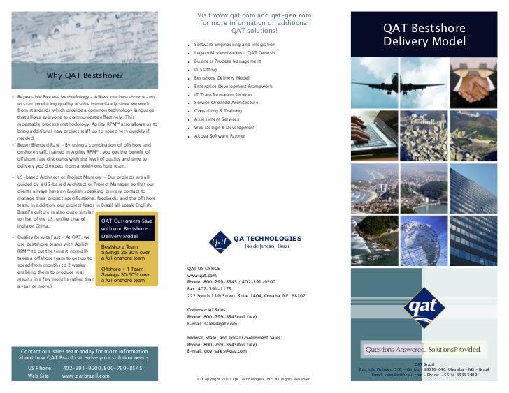 Visit www.qat.com and qat-gen.com                                                                            for more info...