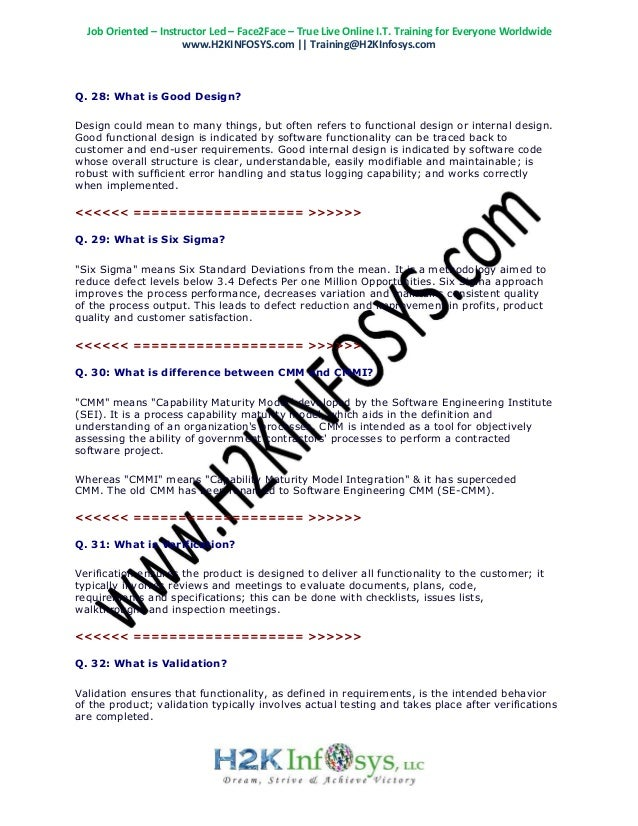 Latest QA Interview Questions | Top 100 QA Testing Interview Questio…