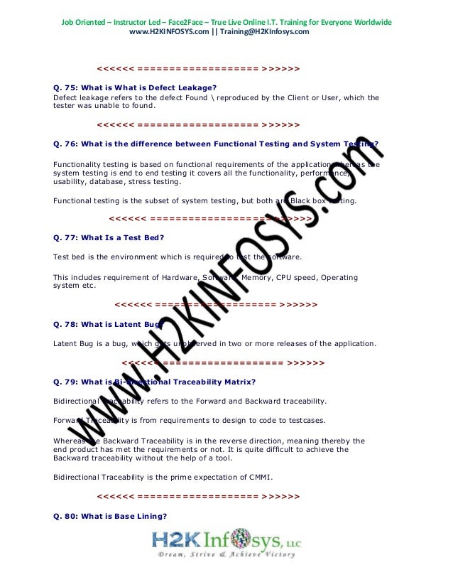 latest qa interview questions top 100 qa testing interview questio rh slideshare net Tough Interview Questions and Answers Great Interview Question and Answers