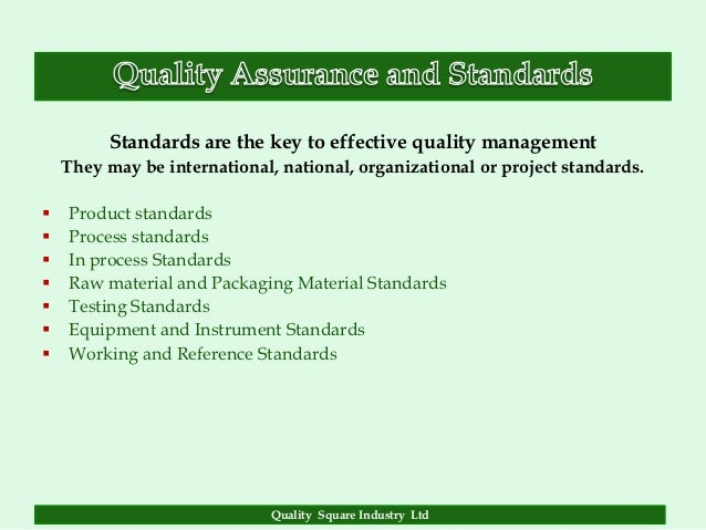 quality assurance in the construction industry Introduction to quality management 44  they are to provide you with an understanding of the following aspects, as they relate to the building and construction industry: 1) quality assurance systems 2) management systems principles 3) compliance with quality assurance systems.
