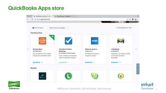 QuickBooks Connect 2016 - Building your first QuickBooks App