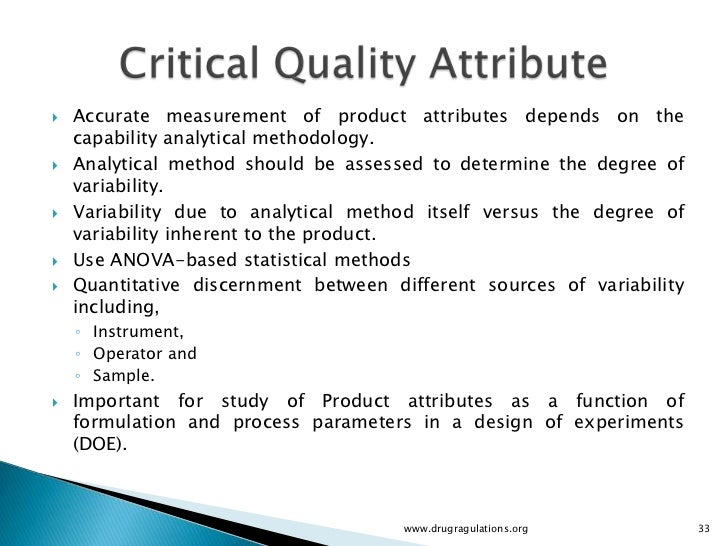 Quality by design quality target product profile Qualities of a good architect