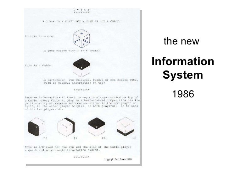 the new  Information System 1986