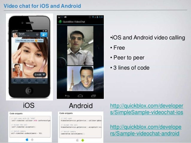 mobile Video-Chat-Website
