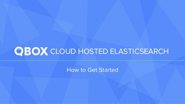 how to get started with elasticsearch