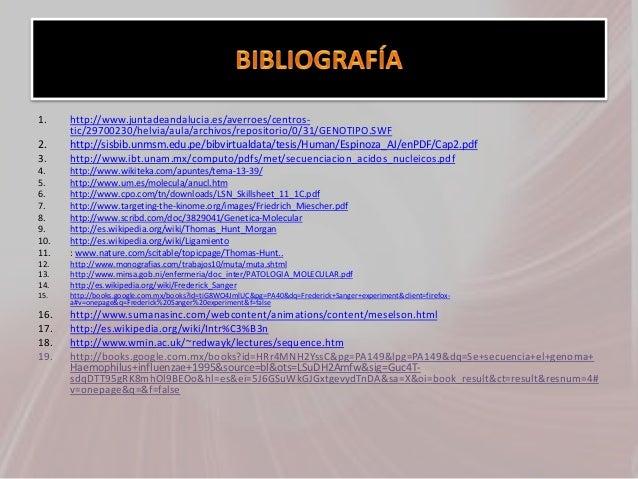 1. http://www.juntadeandalucia.es/averroes/centros- tic/29700230/helvia/aula/archivos/repositorio/0/31/GENOTIPO.SWF 2. htt...
