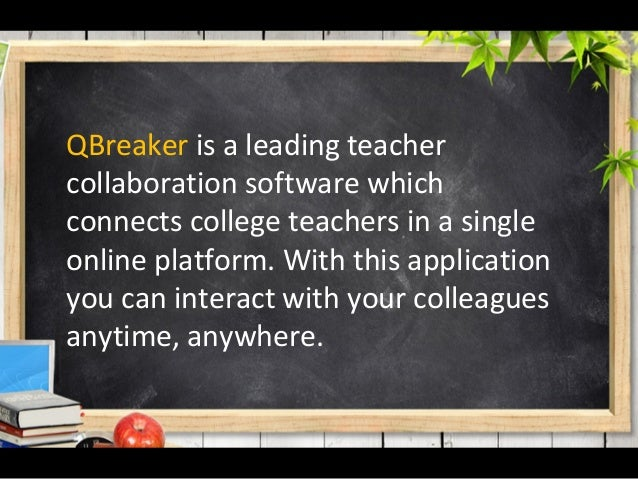 Take a look on the motivating features of a teaching management software Slide 3