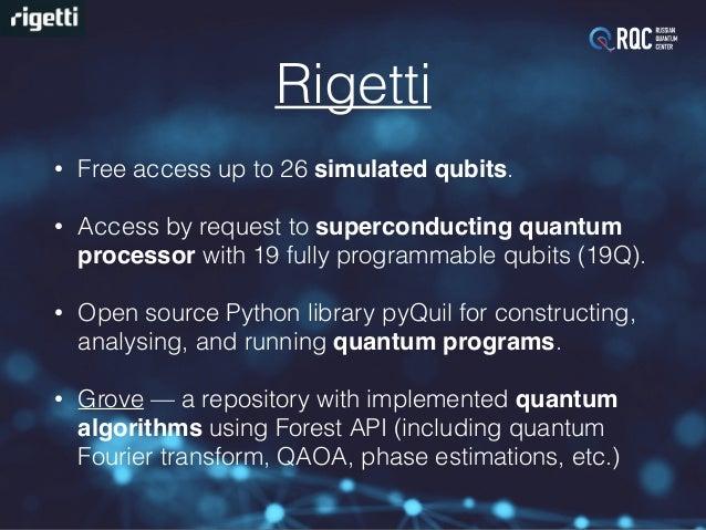 Programming Existing Quantum Computers