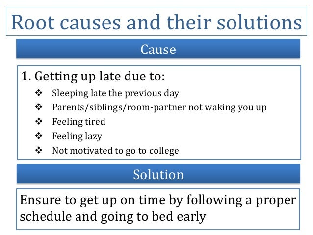 causes and effects of not going to college Cause and effect is a relationship between events or things, where one is the result of the other or others review the examples in this article to better understand this concept cause and effect examples.