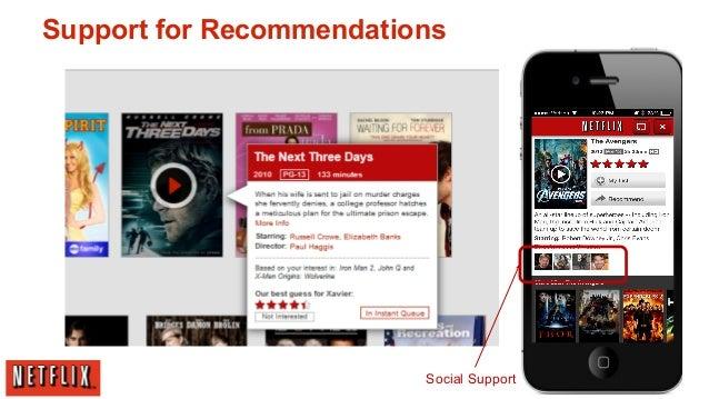 Netflix information system