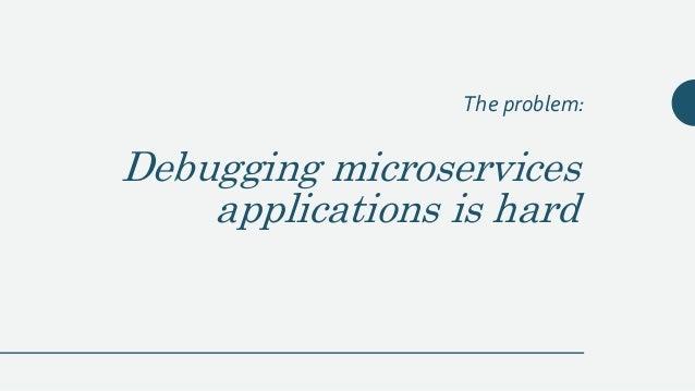 Debugging Microservices - QCON 2017 Slide 3