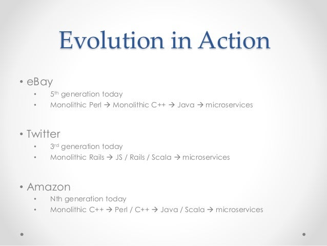 Concurrency at Scale:  Evolution to Micro-Services Slide 3